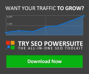 SEO Powersuite Advertisement